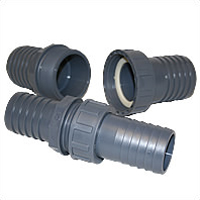 Flexible Pipework Quick Coupling 38mm to 40mm - 1� inch to 1� inch) Union Connection