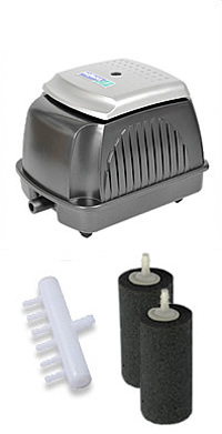 Hozelock 2700 pond air pumps water gardening direct for Hozelock pond pumps