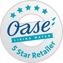 Oase 5 Star Stockist Rating