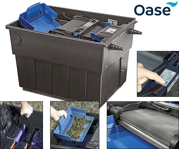 Oase biotec 140000 screenmatic 2 pond filters water for Oase pond filter