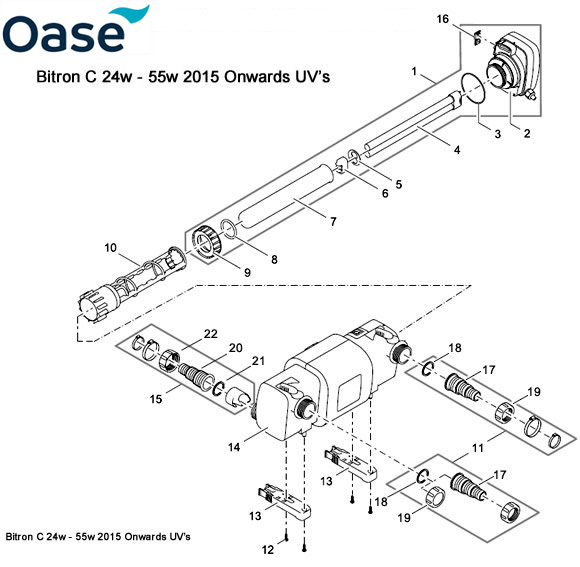 Operating instructions for oase bitron uvc 24c-110c   manualzz. Com.