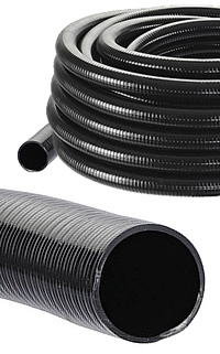 Heavy Duty Corrugated Flexible Hose Pipe 25mm 1 Inch Id Per Metre Water Gardening Direct