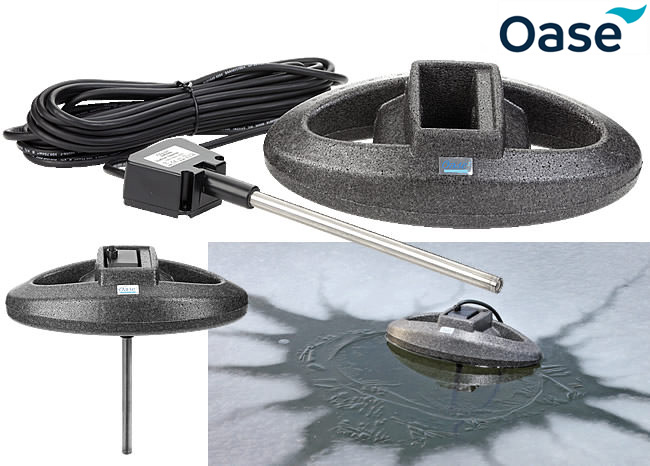 Icefree Thermo 200 Watt Oase Pond Heater Water Gardening Direct