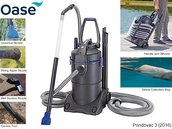 oase pondovac 3 2016 pond vacuum water gardening direct. Black Bedroom Furniture Sets. Home Design Ideas
