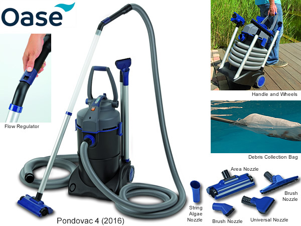 oase pondovac 4 pond vacuum water gardening direct. Black Bedroom Furniture Sets. Home Design Ideas