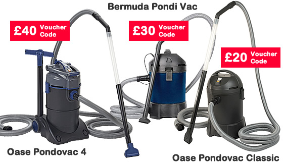 Pond Vacuums - Special Offer