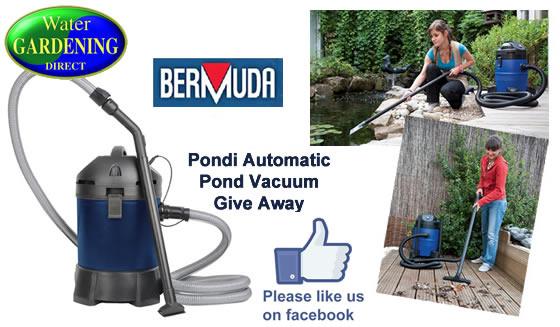 Bermuda Pondi vac Prize Draw