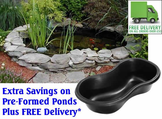 Preformed Pond Special Offers